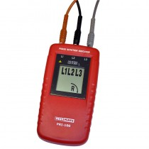 Testmate PRI-100 Phase Rotation Indicator with UK GS38 Fused Leads